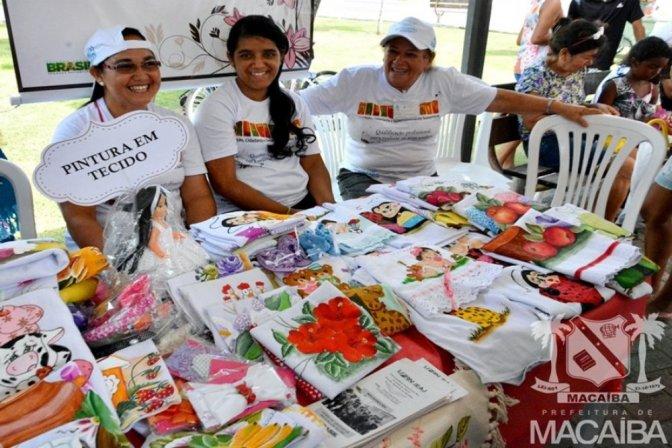Artesãos macaibenses na Feira Internacional de Artesanato