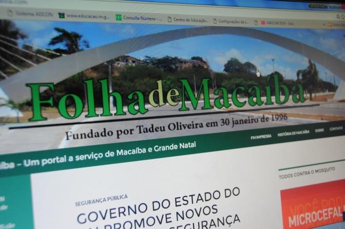 Folha de Macaíba lança novo portal e renova compromisso com a informação