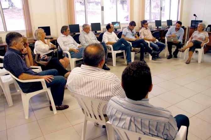 Comitiva da Fecomércio visita Instituto Santos Dumont em Macaíba