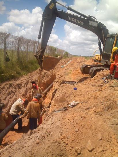 Potigás deve ser acionada antes de escavações