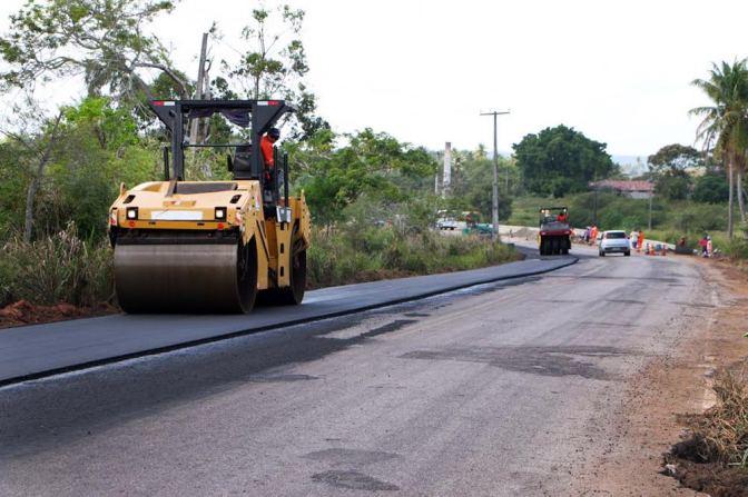 Iniciada obras de restauração da RN-063 em Nísia Floresta