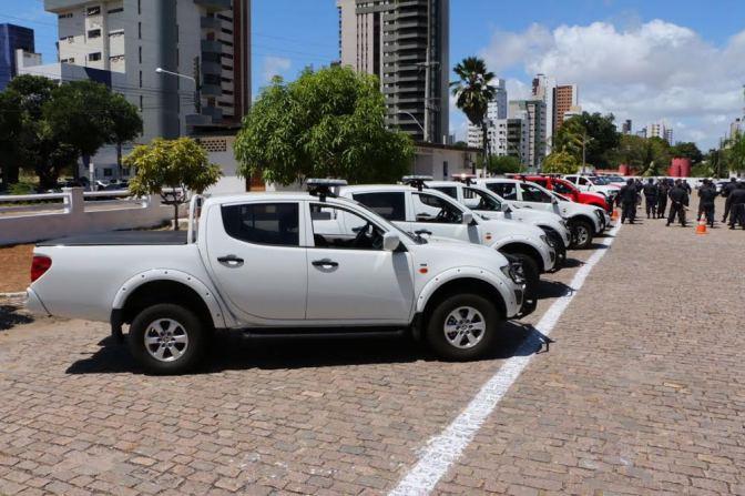 Segurança do RN ganha novos veículos, armas e coletes
