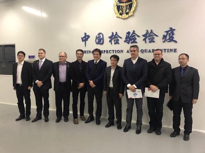 Robinson conhece ZPE chinesa e propõe parceria comercial com RN