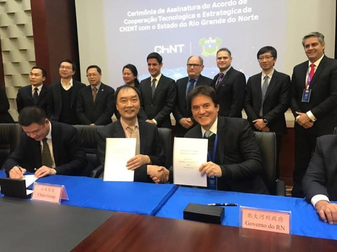 Governo visita chineses interessados em administrar a ZPE de Macaíba