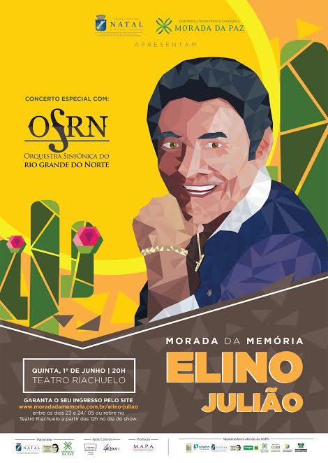 Projeto Morada da Memória promove tributo a Elino Julião