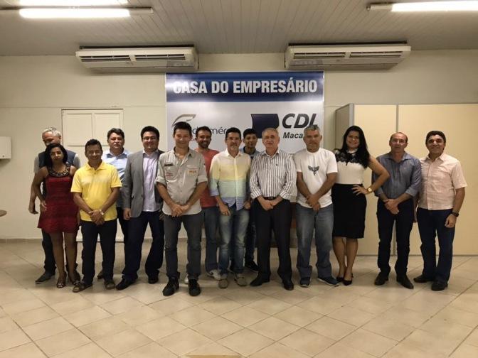 Empresário Venício Gama eleito presidente da CDL de Macaíba
