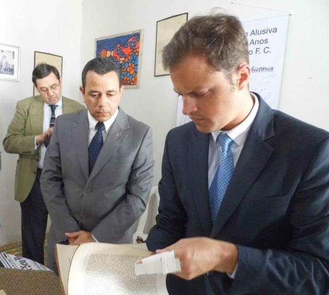 Um príncipe entre nós: membro da família real visita amigo em Macaíba