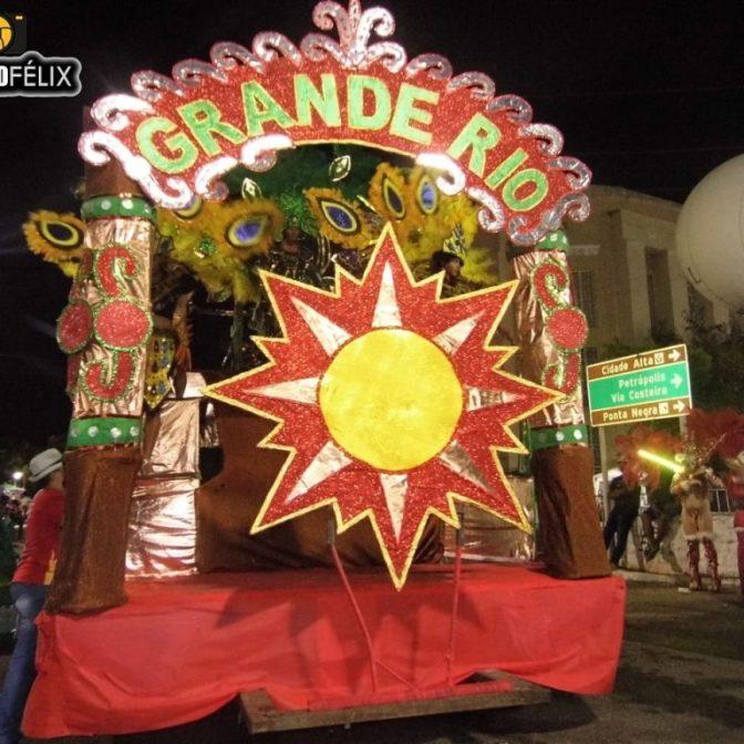 Escola de samba macaibense é campeã do Grupo B do carnaval de Natal