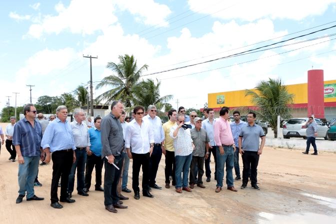 Antiga reivindicação: acesso ao Distrito Industrial de Macaíba será pavimentado