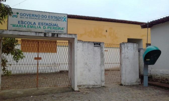Em Macaíba, Escola Estadual Maria Emília Duarte Pereira é alvo de assaltantes