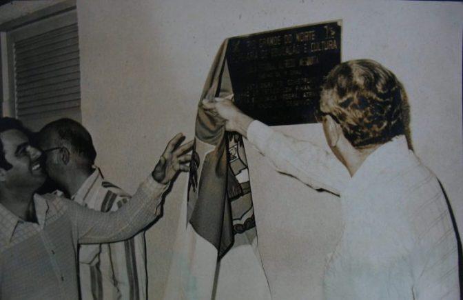 40 anos da Escola Alfredo Mesquita Filho: Macaíba respirada tranquilidade quando o colégio foi inaugurado