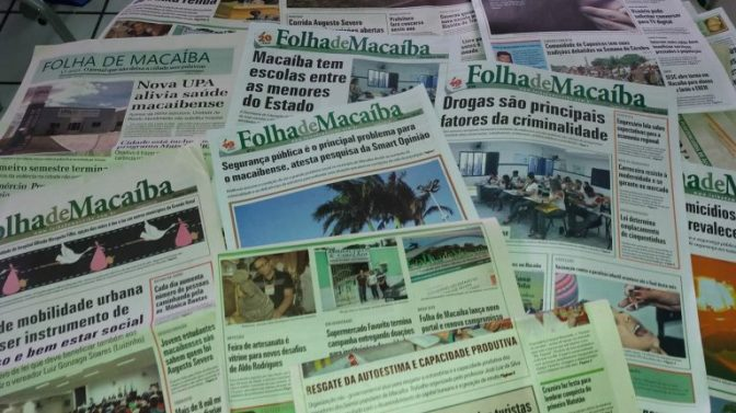 Instituto Tavares de Lira recebe acervo do jornal Folha de Macaíba