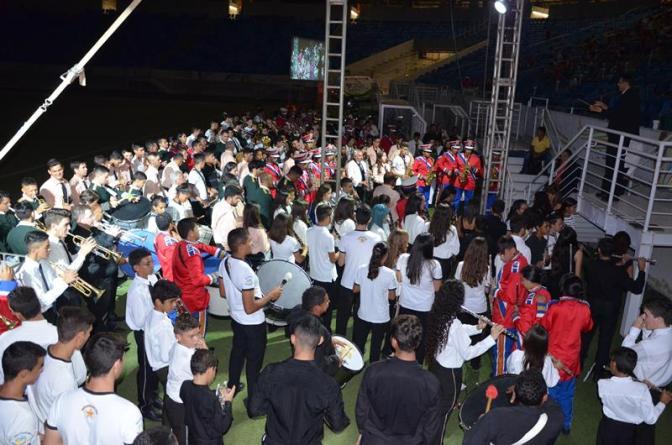 Encontro Bandas Filarmônicas será nesta sexta-feira (25) na Arena das Dunas