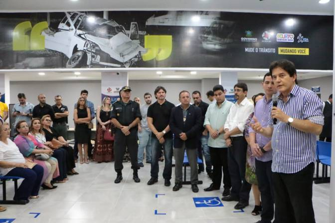 RN inaugura posto moderno do Detran no Natal Shopping