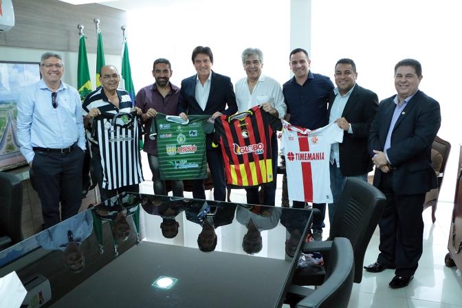 Governo do Estado firma parceria educativa com times de futebol do RN
