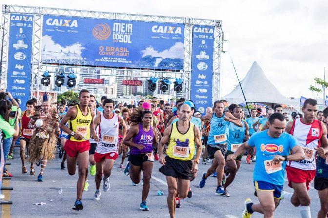 Meia Maratona do Sol ganha ruas de Natal neste sábado (16)