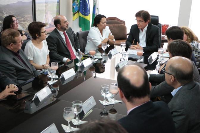 Governo inicia transição para a nova gestão que assume em 1º de janeiro